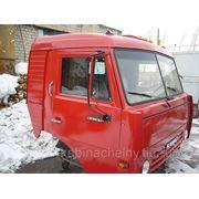 Кабина тягача КАМАЗ 44108 со спальником, высокая крыша цвет рубин в Набережных Челнах