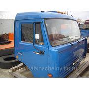 Кабина бортового Камаз 53215 без спальника, высокая крыша цвет синий