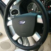 Ford Focus: накладки рулевого колеса, цвет серебро фото