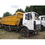 Автомашины МАЗ-5516A5-371H самосвал фото