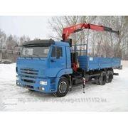 КАМАЗ 65117 КМУ Fassi 155 A.0.22 фото