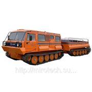 Двухзвенный гусеничный грузовой снегоболотоход ТТМ-4901 ГР (6 чел., 4 т.) фото