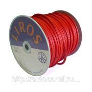Синтетический кевлароввый трос для лебедки liros pro 10mm (красный) фото