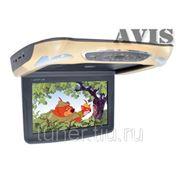 """Автомобильный потолочный монитор 11.6"""" со встроенным DVD плеером AVIS AVS1219T (бежевый)"""