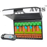 """Автомобильный потолочный монитор 15,6"""" со встроенным DVD плеером AVIS AVS1520T (черный) фото"""