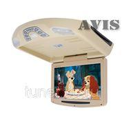 """Автомобильный потолочный монитор 11"""" со встроенным DVD плеером AVIS AVS1118T (бежевый)"""