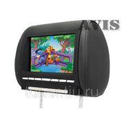 """Подголовник со встроенным LCD монитором 8"""" AVIS AVS0812BM (черный)"""