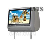 """Подголовник со встроенным DVD плеером и LCD монитором 9"""" AVIS AVS0943T (серый)"""