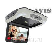 """Автомобильный потолочный монитор 10.2"""" со встроенным DVD плеером AVIS AVS1019T (серый) фото"""