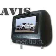 """Подголовник со встроенным LCD монитором 7"""" AVIS AVS0744BM (черный)"""