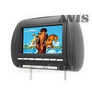 """Подголовник со встроенным DVD плеером и LCD монитором 8"""" AVIS AVS0811T (черный) фото"""