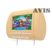 "Подголовник со встроенным LCD монитором 8"" AVIS AVS0812BM (бежевый) фото"
