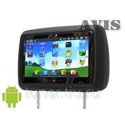 Мультимедийный подголовник с монитором 9'' и ОС Android 4.0.4 AVIS AVS0991HDM (черный) фото
