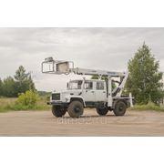 Аренда автовышки ГАЗ-3309 (18 метров) фото