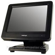 """POS-монитор 8"""" Posiflex LM-2008E-B черный, пластиковая подставка фото"""