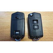 Корпус выкидного ключа для Хендай, 2 кнопки hyn7 (khy051) фото