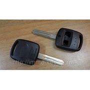 Заготовка ключа зажигания для Субару, 2 кнопки, NSN14 (ksub006) фото
