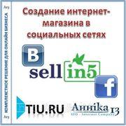 Создание интернет-магазина в социальных сетях Facebook + ВКонтакте (Pro) фото