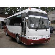 Автобус Hyundai Aerotown 2009 год, 33 места + 1 гид, EURO 4, туристический, междугородний, двигатель D6BR мощностью 220 л.с., две двери.