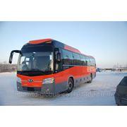 Новые автобусы Kia Granbird фото