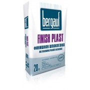 Шпаклевка Бергауф цементная белая Finish Plast фото
