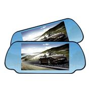 Зеркало заднего вида с монитором 7 дюймов + 2 видеовхода фото