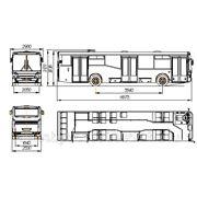 Aвтобус НЕФАЗ-5299-30-32 низкопольный фото
