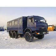 Вахтовый автобус на шасси КАМАЗ 43114 22мест. фото