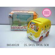 "Машина syc823l ""автобусик"" со звуком на батарейках в коробке 25,5*15*16,5см (833979) фото"