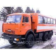 Нефаз 4208 вахтовый автобус с лебедкой фото