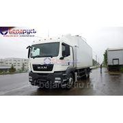 ман man фургон грузовой-изотермический под установку рефрижератораman tgs 33.360 6x4 bb-ww фото