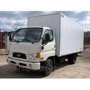 Hyundai HD-78 Кузбасс мебельный фургон