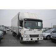 """Грузовой автомобиль Hyundai HD120 (фургон """"Бабочка"""") 2013 г. фото"""