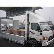 """Грузовой автомобиль Hyundai HD78 (фургон """"Бабочка"""") 2013 г. фото"""