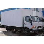 Фургон промтоварный Hyundai HD-78 будка 5м. фото