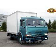 КАМАЗ-4308 изотермический фургон фото