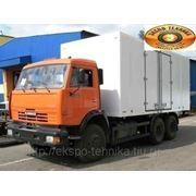 КАМАЗ-65115 изотермический фургон фото