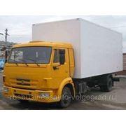 Фургон КамАЗ 4308-3065-99 сэндвич 50 мм оцинкованный полимер (Спектр-Авто) фото