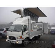 """Грузовой автомобиль Hyundai HD72 (фургон """"Бабочка"""") 2013 г. фото"""