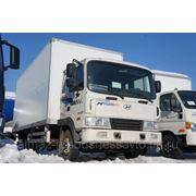 Фургон Hyundai HD-120 Extra Long промтоварный оц. полимер+фанера (Исток) 3797GS