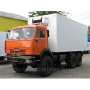 КАМАЗ-43118 изотермический фургон фото