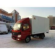 Грузовой автомобиль Foton BJ 1039 промтоварный фургон