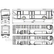 Автобус НефАЗ-52997 низкопольный фото