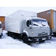 Камаз 53215, изотермический фургон фото