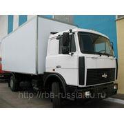Изотермический фургон на шасси МАЗ 5336А5-341