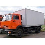 КАМАЗ-43253 изотермический фургон
