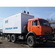 Автомастерская/фургон-вахта КАМАЗ-43114