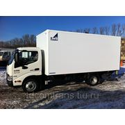 HINO 300 изотермический фургон 5,2м Класс А фото