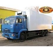 КАМАЗ-65117 изотермический фургон фото