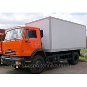 КАМАЗ-43253 изотермический фургон фото
